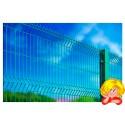 Забор из сварной сетки/3D забор